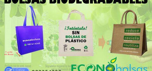 612d6c7ff 🍀 Bolsas Ecológicas en Gamarra Perú 🌱 | Bolsos Ecologicos